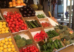 Groenten en fruit catering Lebleu