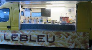 Foodtruck frituur catering Lebleu