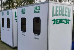 kassa containers catering Lebleu
