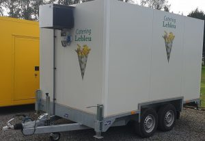 koelwagen catering Lebleu